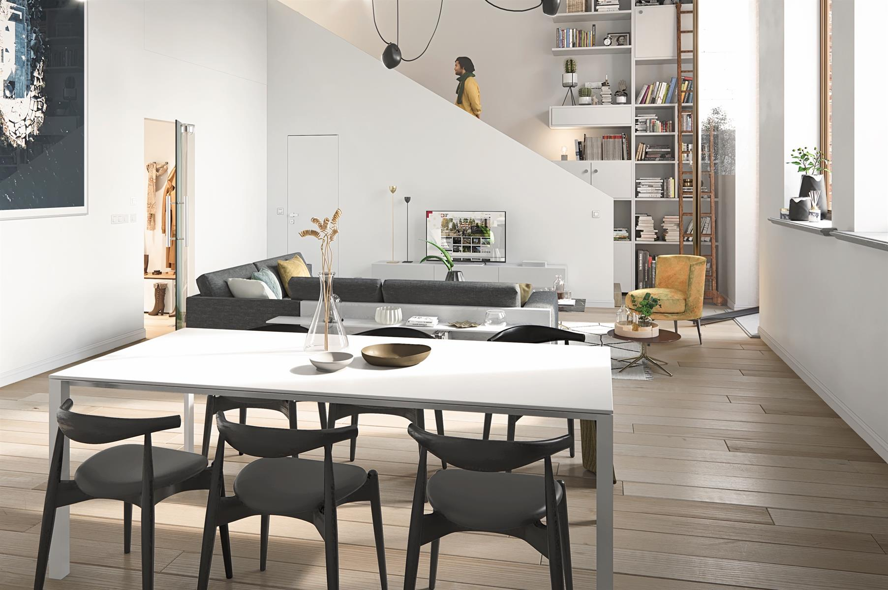 Appartement Te koop Deinze AP 1.4 - Pakhuis - Appartement