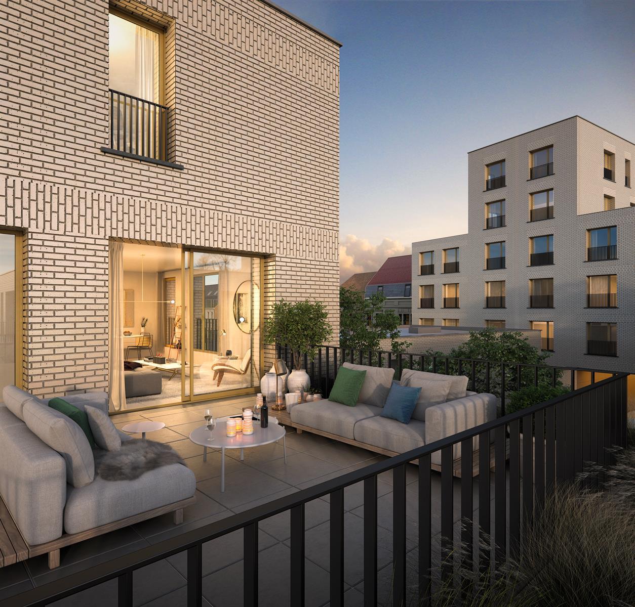 Te koop, Appartement, Deinze, AP 5.1 - Pakhuis - Penthouse