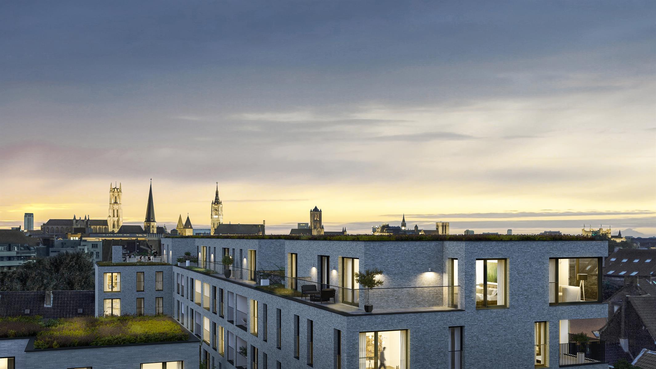 Appartement Te koop Gent Project Nieuwland - Appartementen - Nieuwland 54 - Gent