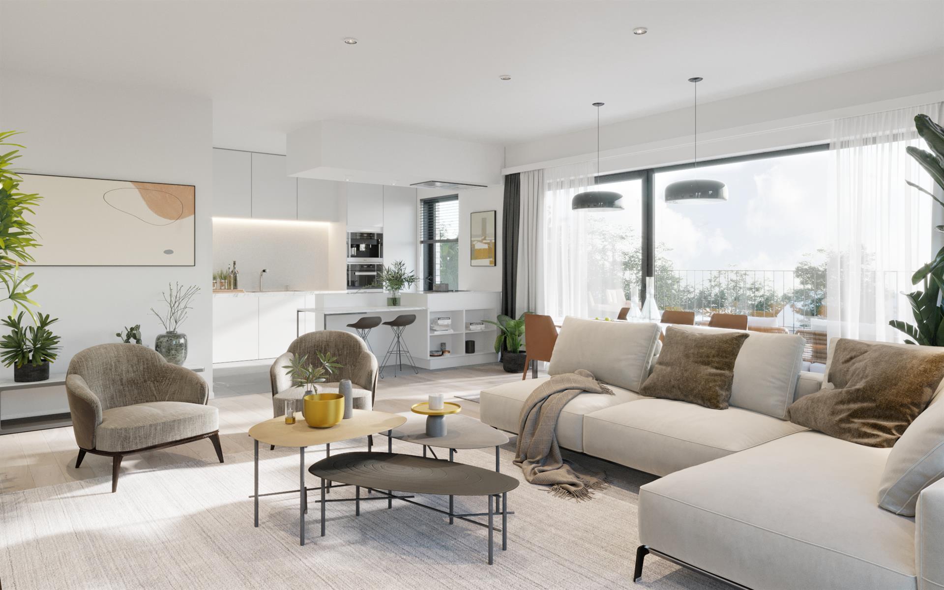 Appartement Te koop Gent Wondelgem App 129-101