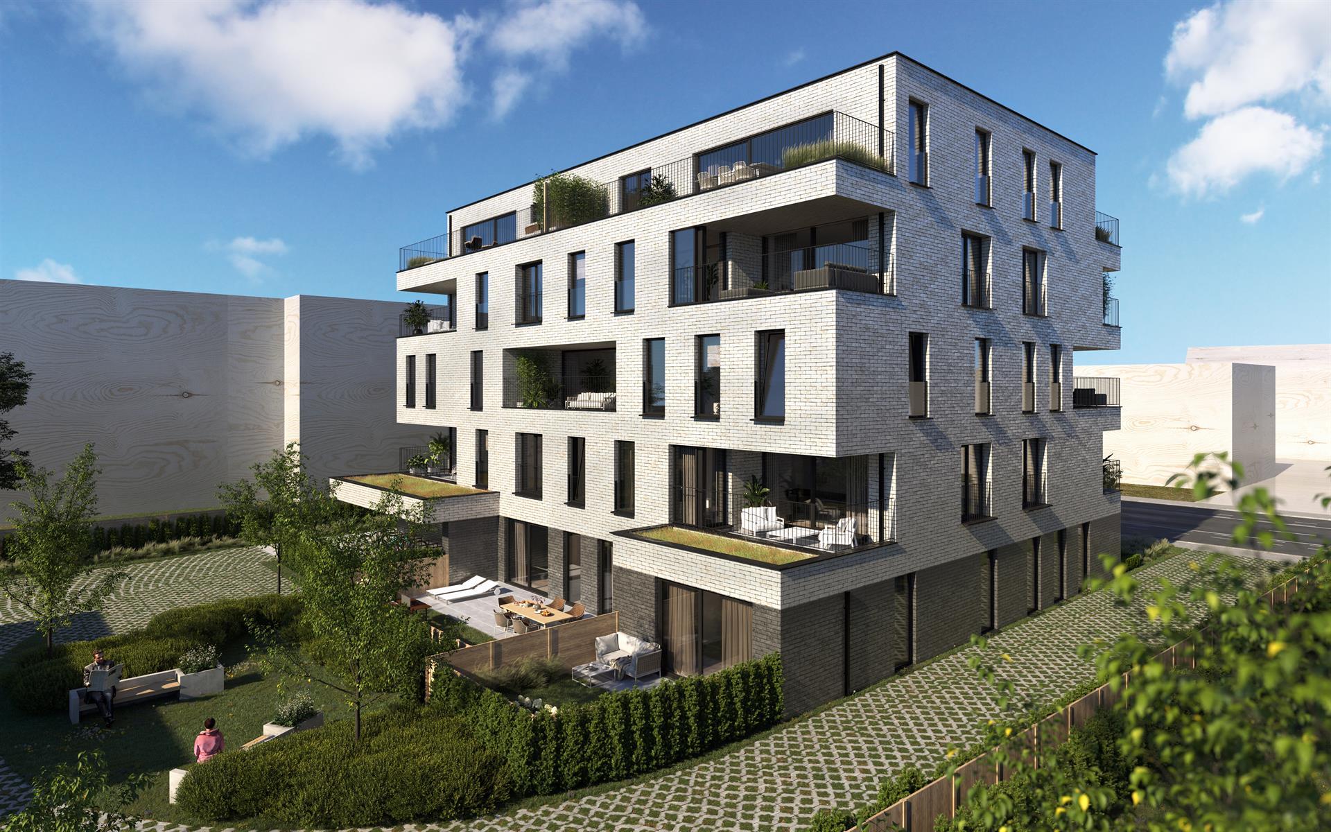 Te koop, Appartement, Gent Wondelgem, App 129-104