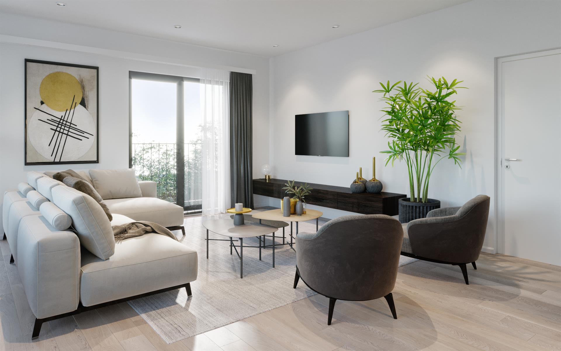 Appartement Te koop Gent Wondelgem App 129-402