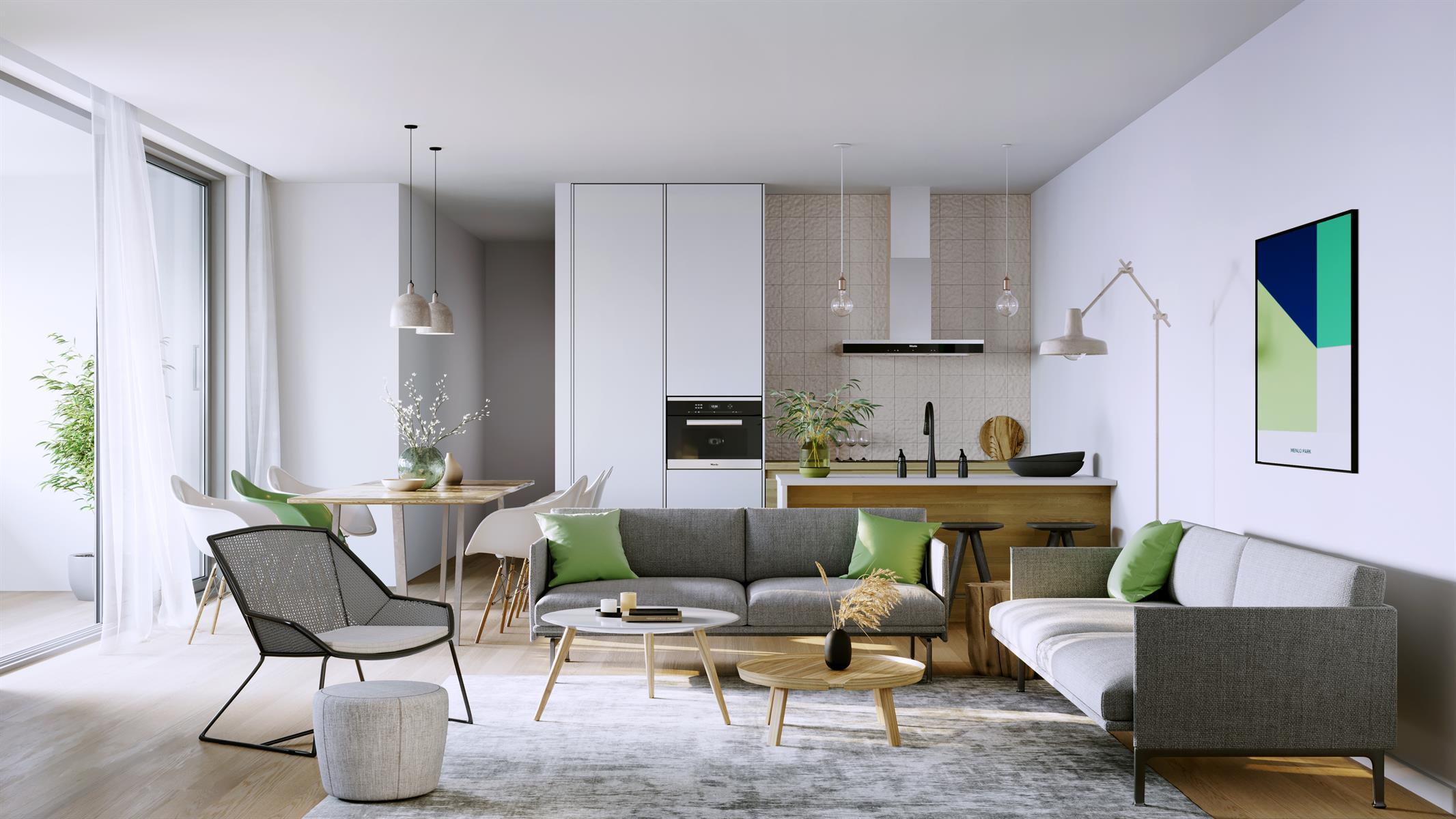 """Appartement Te koop Gent App 1.6 - """"Menlo Park"""""""