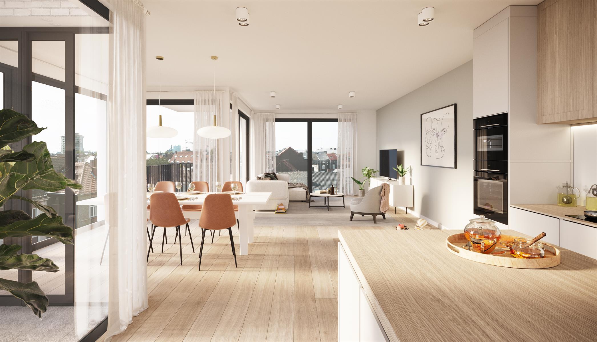 Appartement Te koop Gent App A1.01 - blok A